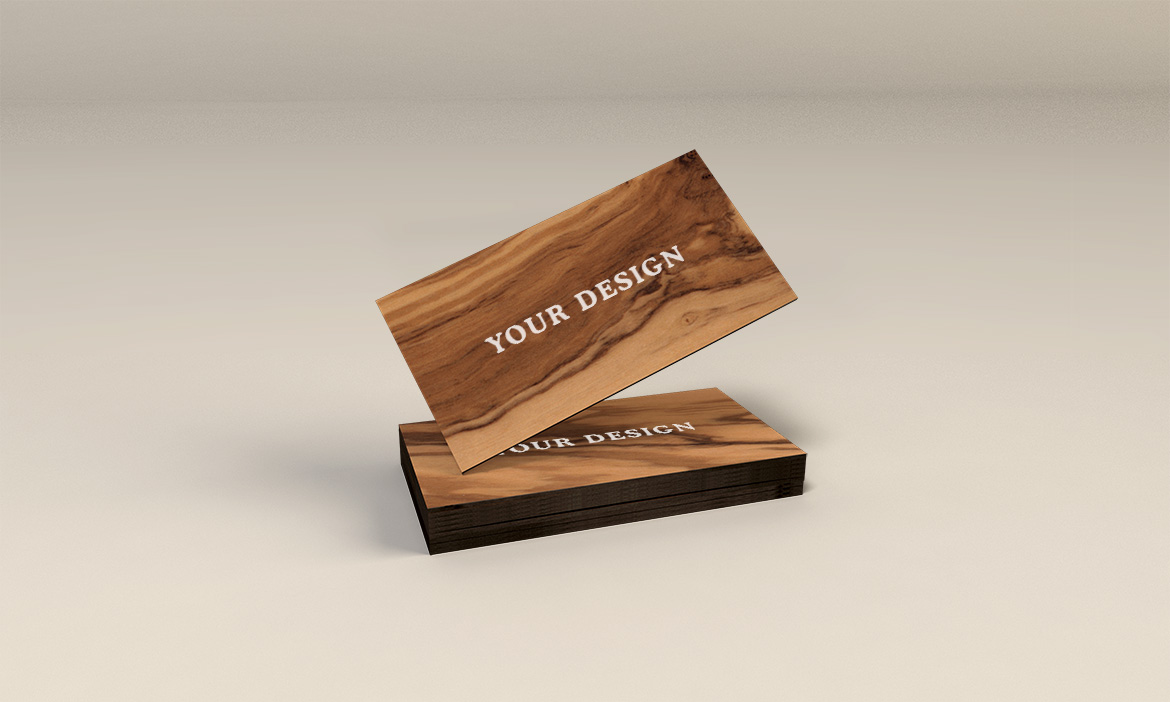 Name Card Wooden